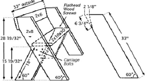 Aldo Leopold Bench Plans Instructions