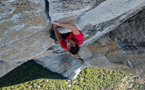 Alex Honnold Free Solo From Meadow