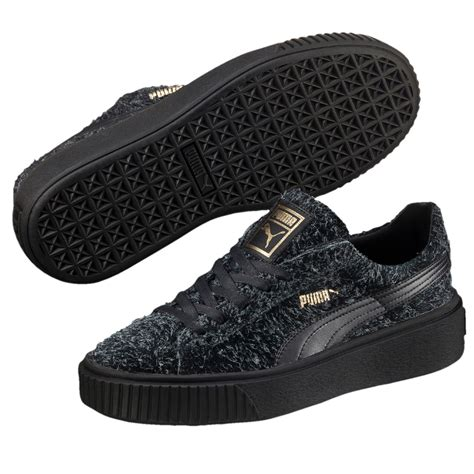 All Black Women Puma Sneakers