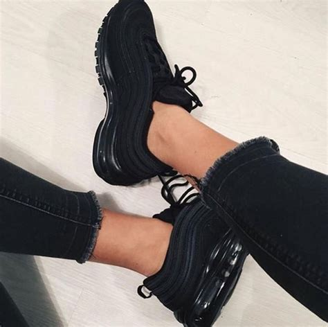 All Black Womens Nike Sneakers