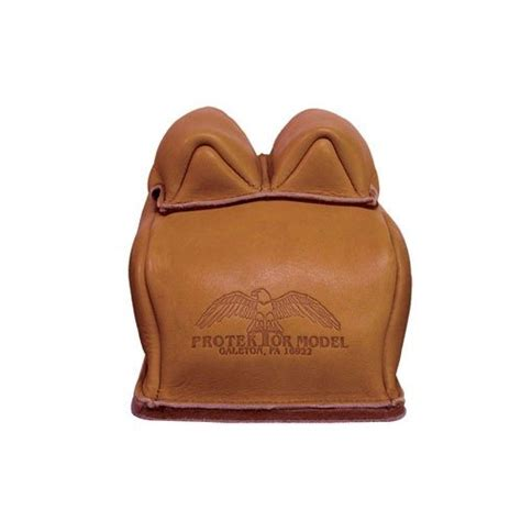 All Leather Two Stitch Bunny Ear Rear Bag - Brownells It.