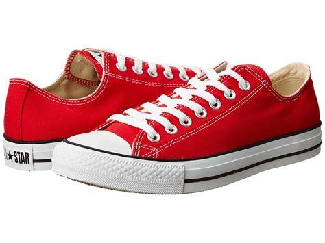All Red Converse Sneakers