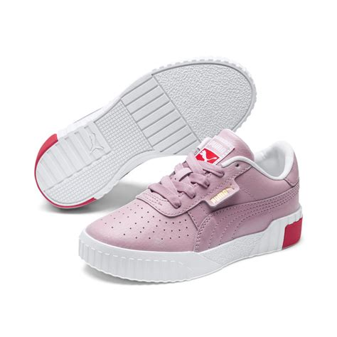 All White Preschool Sneakers Puma Girls