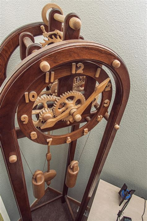 All Wood Skeleton Clock Plan