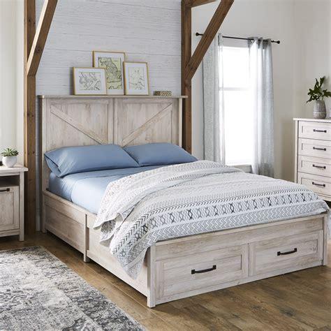 All-White-Farmhouse-Beds