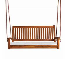 Best All things cedar teak porch swing