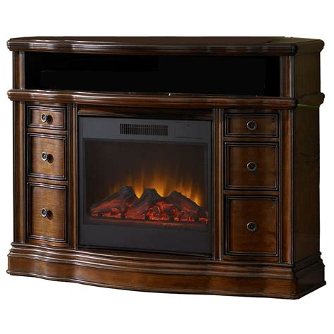 Allenroth Electric Fireplace And Mantel Package