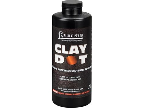 Alliant Clay Dot Smokeless Gun Powder 1 Lb - Midwayusa.