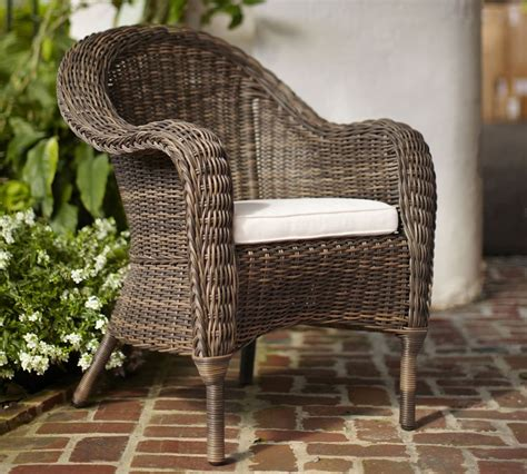 Alll Weather Wicker Dining Chairs