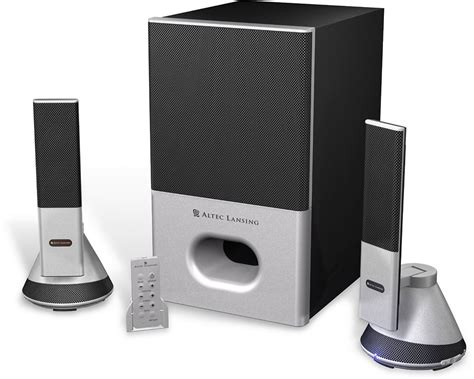 Altec Lansing VS4221 2.1 Speaker System Music & Gaming System with Remote