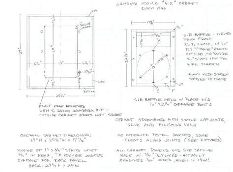 Altec-612-Cabinet-Plans