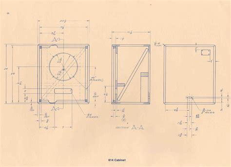 Altec-614-Cabinet-Plans