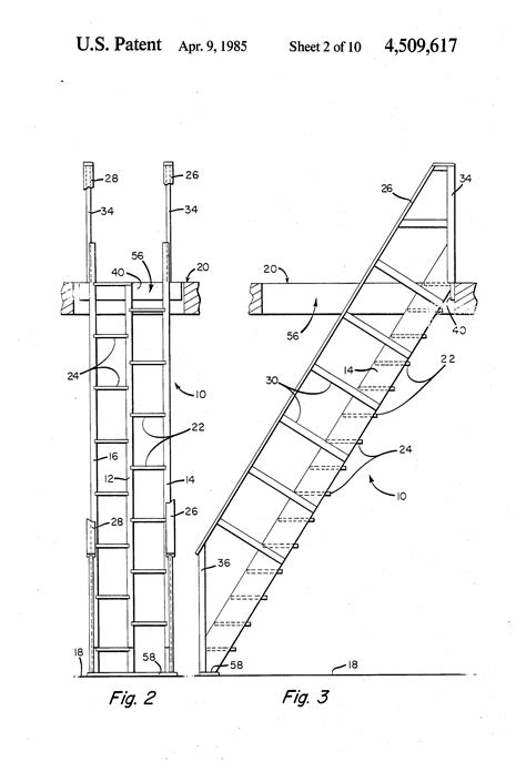 Alternating Tread Stair Plans Details