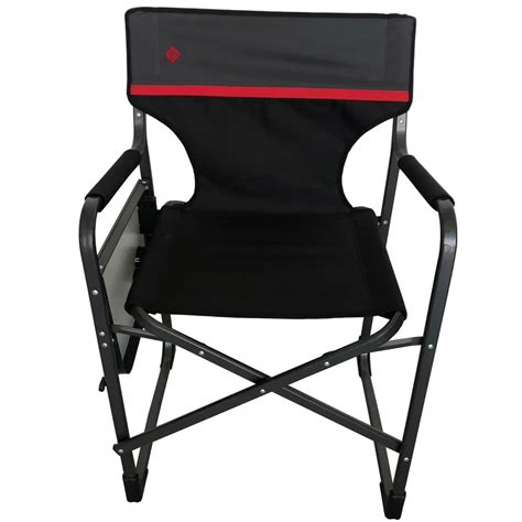 Aluminium Folding Chair With Side Table