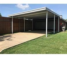 Best Aluminium carport design