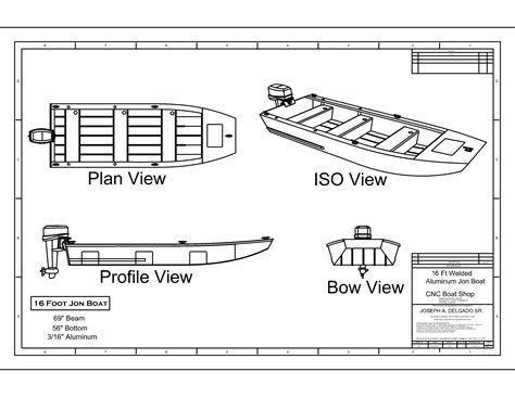 Aluminum Flat Bottom Jon Boat Plans