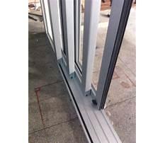 Best Aluminum sliding glass door track.aspx