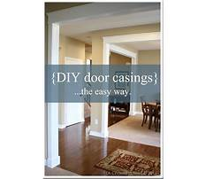 Best Amazing woodworking projects building casing for door simple and beautiful