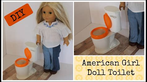 American Girl Diy Toilet