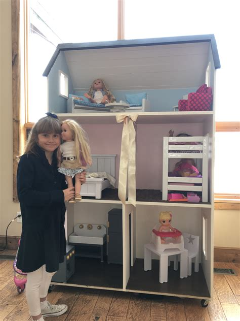 American Girl Doll House Furniture Diy