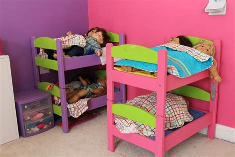 American Girl Doll Loft Bed Diy From Ikea