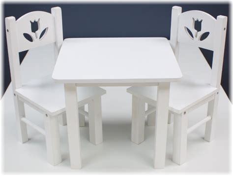 American Girl Doll Table And Chairs Ebay