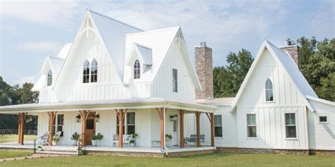 American Gothic Farmhouse Plans