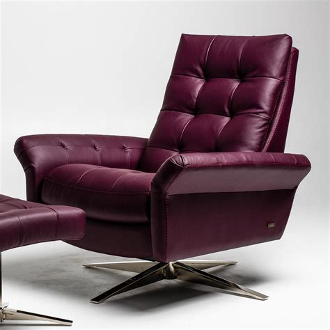 American Leather Swivel Recliners