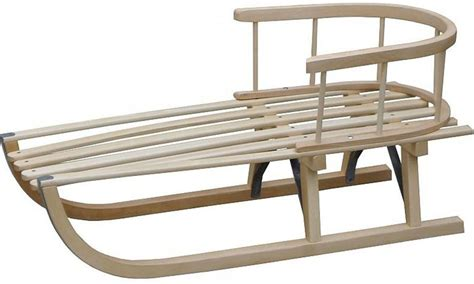 American Traders Wooden Sleds For Kids
