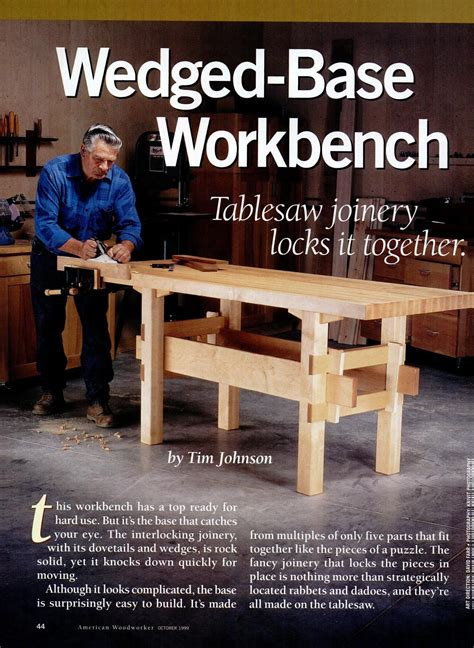 American Woodworker Magazine Bench Plans