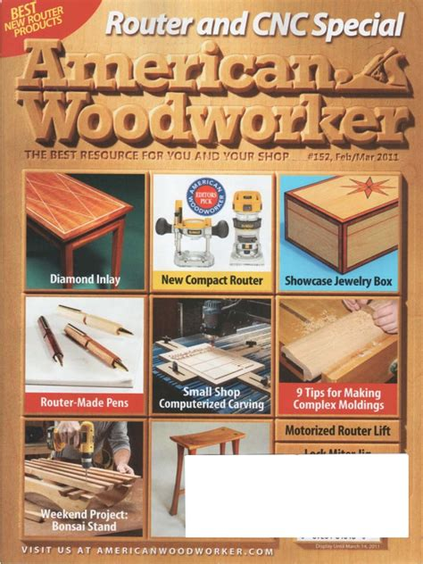 American Woodworker Plans September 2006
