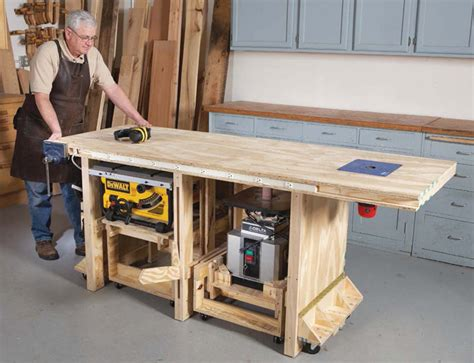 American Woodworker Power Tool Friendly Bench Plans Video