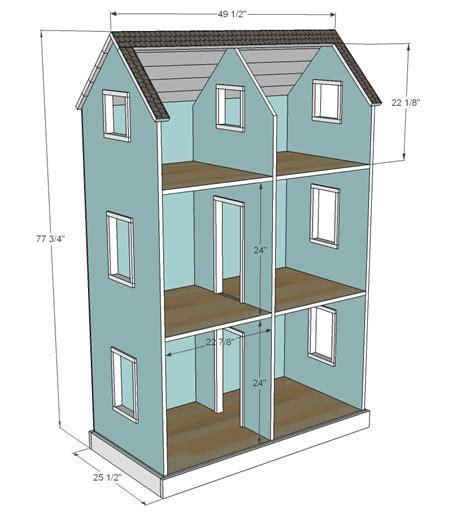 American-Doll-Dollhouse-Plans