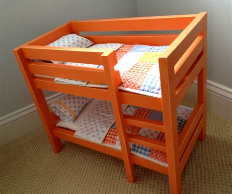 American-Girl-Doll-Bunk-Bed-With-Desk-Diy