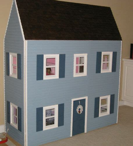 American-Girl-Dollhouse-Plans-Template-Kit