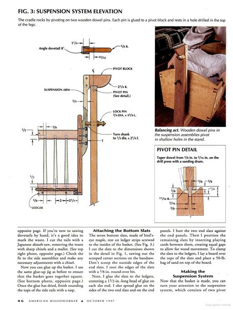 American-Woodworker-Plans