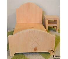 Best American doll wood furniture patterns