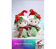 Best Amigurumi free christmas patterns