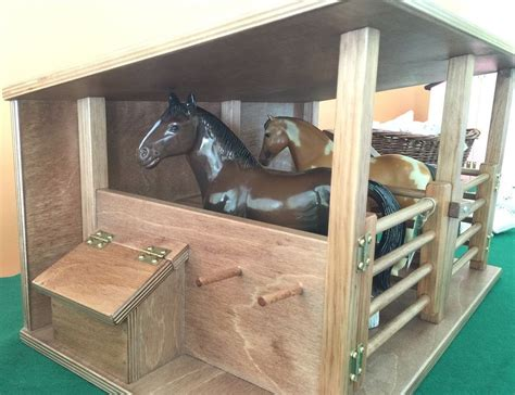 Amish Made Toy Horse Stable