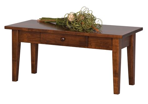 Amish Shaker Coffee Table Plans