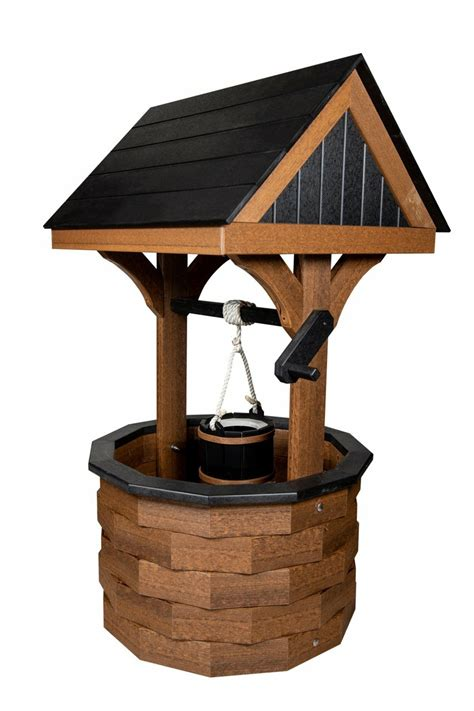 Amish Wishing Well Yard Decoration