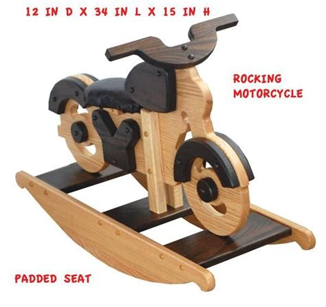Amish Wooden Motorcycle Plans
