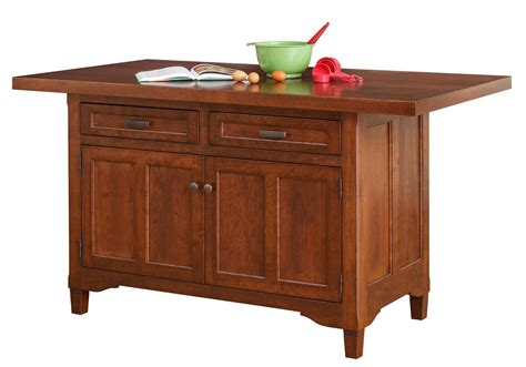 Amish unfinished kitchen islands Image