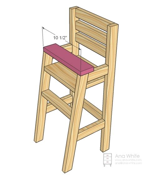Amish-3-In-1-High-Chair-Plans-Free
