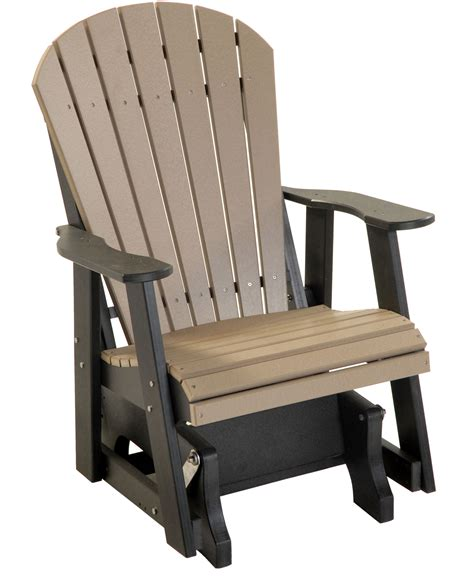 Amish-Adirondack-Glider-Chairs