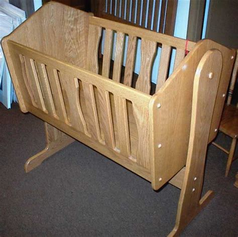 Amish-Baby-Crib-Plans