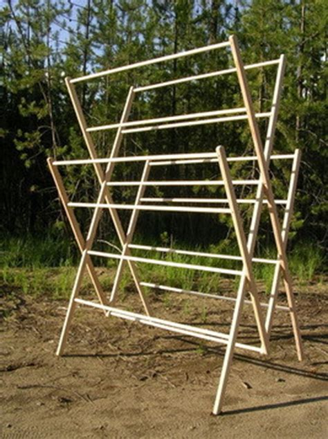 Amish-Clothes-Drying-Rack-Plans