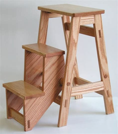 Amish-Folding-Step-Stool-Plans