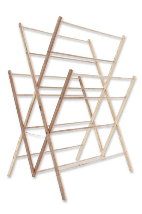 Amish-Wood-Clothes-Drying-Rack-Plans