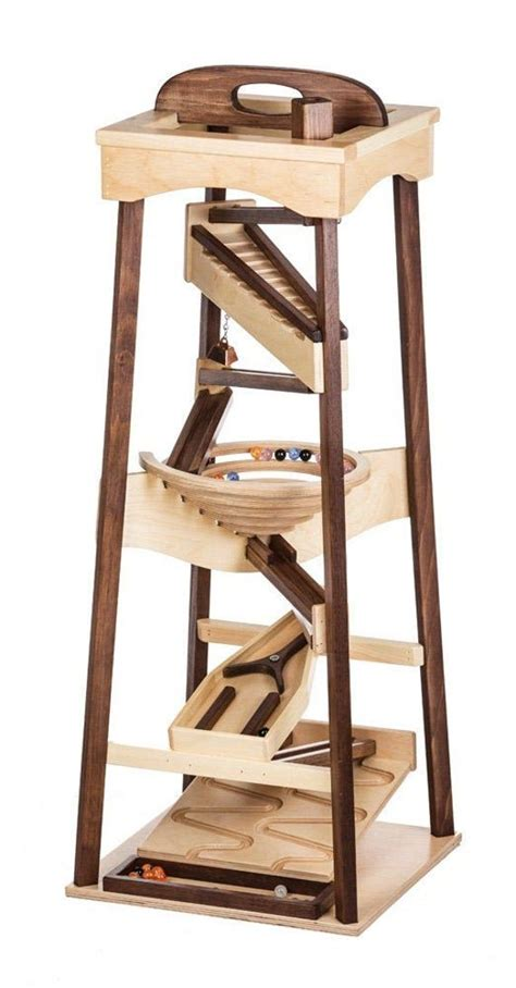 Amish-Wooden-Marble-Run-Plans